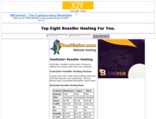 resellerhosting.xzf.in screenshot