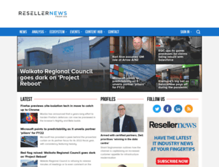 resellernews.co.nz screenshot