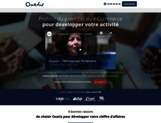 resellers.oxatis.com screenshot