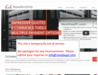 resellersonly.com screenshot