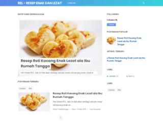 resepenaklezat.com screenshot