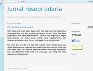 resepidaria.blogspot.com screenshot