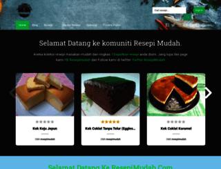resepimudah.com screenshot