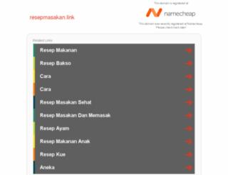 resepmasakan.link screenshot
