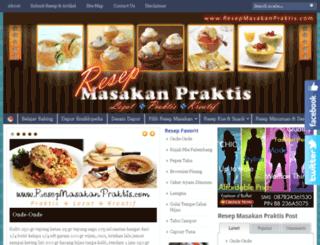 resepmasakanpraktis.com screenshot