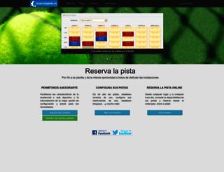 reservalapista.es screenshot