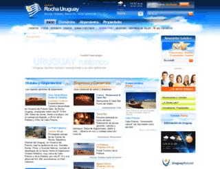 reservasenrocha.com screenshot