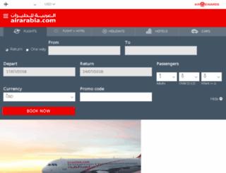 reservation.airarabia.com screenshot