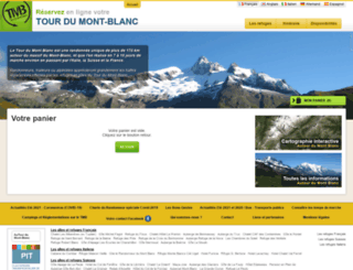 reservation.montourdumontblanc.com screenshot