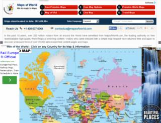 reservations.mapsofworld.com screenshot