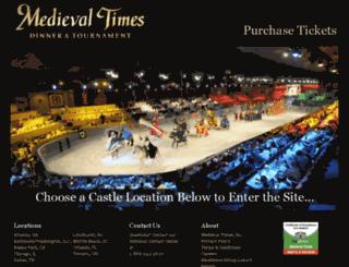 reservations.medievaltimes.com screenshot