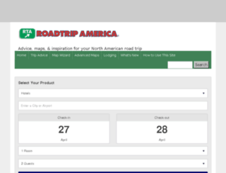 reservations.roadtripamerica.com screenshot