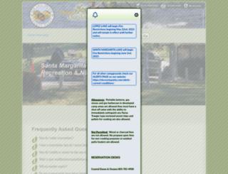 reservations.slocountyparks.com screenshot