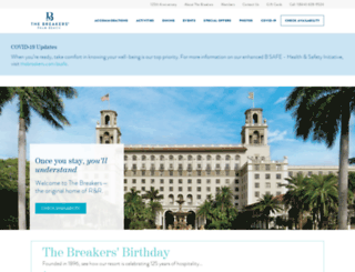reservations.thebreakers.com screenshot