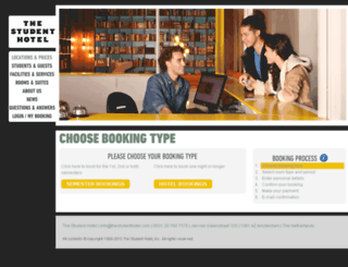 reservations.thestudenthotel.com screenshot