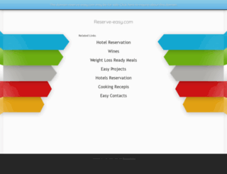reserve-easy.com screenshot