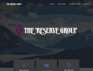 reservegroup.com screenshot
