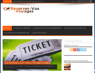 reserver-vos-voyages.fr screenshot