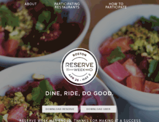 reserveweek.com screenshot