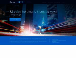 reservhotel.com screenshot
