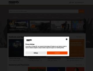 reservix.de screenshot