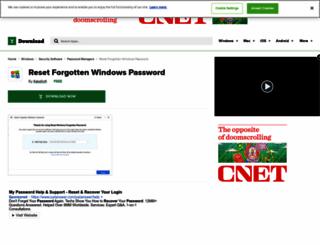 reset-windows-password.net screenshot