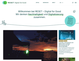 reset.org screenshot