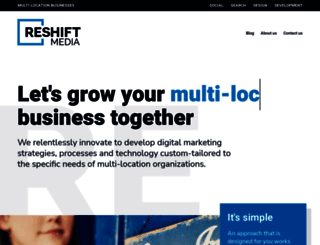 reshiftmedia.com screenshot