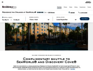 residenceinnseaworld.com screenshot