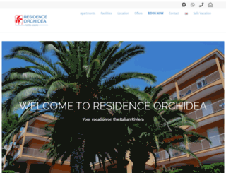 residenceorchidea.it screenshot