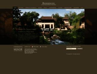 residences-chiangmai.com screenshot