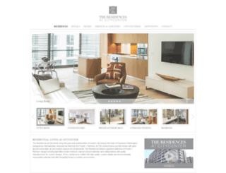 residencesatcitycenterdc.com screenshot