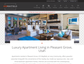 residencesatmayfield.com screenshot