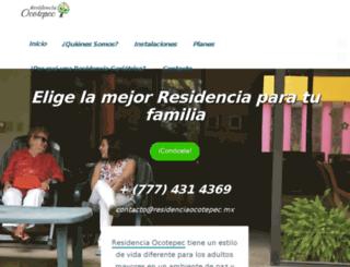 residenciaocotepec.mx screenshot