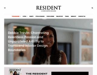 resident.com screenshot