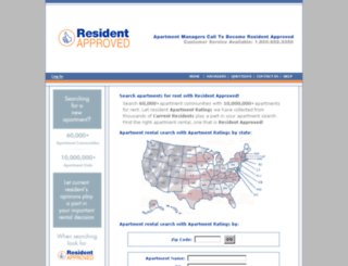 residentapproved.com screenshot