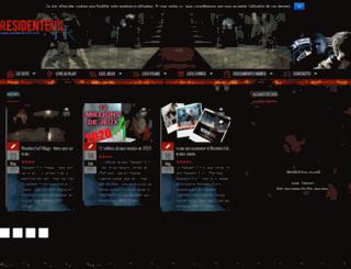 residentevilfr.com screenshot