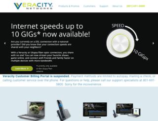 residential.veracitynetworks.com screenshot