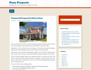 residentialpropertyinpune.wordpress.com screenshot