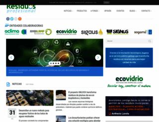 residuosprofesional.com screenshot