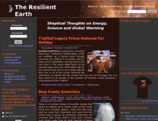 resilientearth.com screenshot