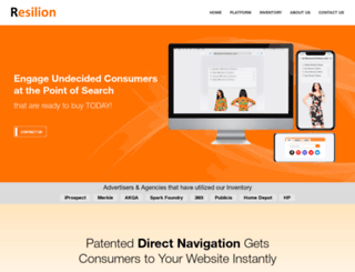 resilion.net screenshot