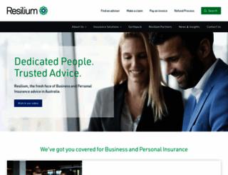 resilium.com.au screenshot
