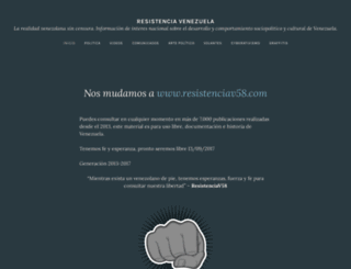resistenciav58.wordpress.com screenshot