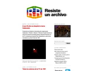 resisteunarchivo.blogspot.com.ar screenshot