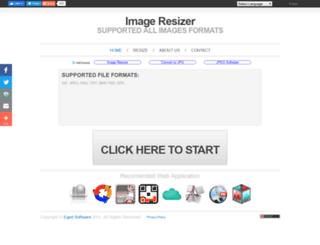 resizer.egedsoft.com screenshot