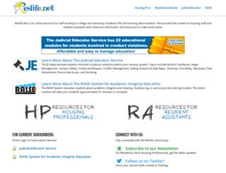 reslife.net screenshot