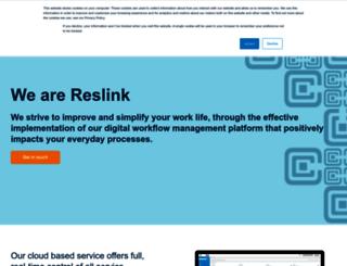 reslink.fi screenshot