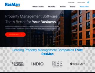 resmancloud.com screenshot
