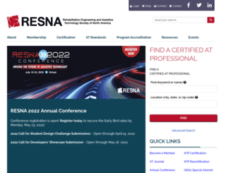 resna.org screenshot